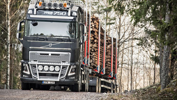 Volvo FH16 - I-Shift Crawler Gear