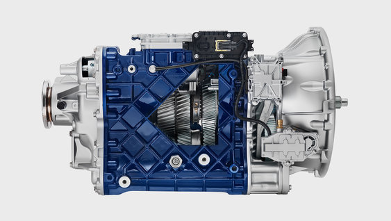 Volvo FH - I-Shift Crawler Gear