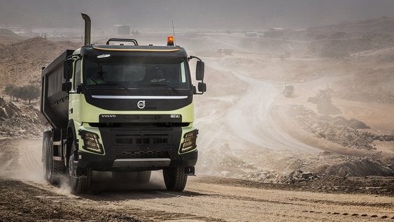 Volvo FMX - I-Shift