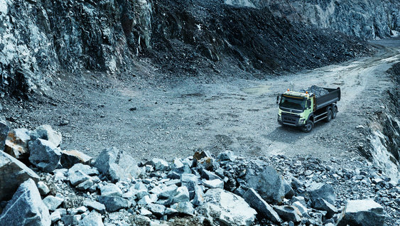 Volvo FMX - Tampon
